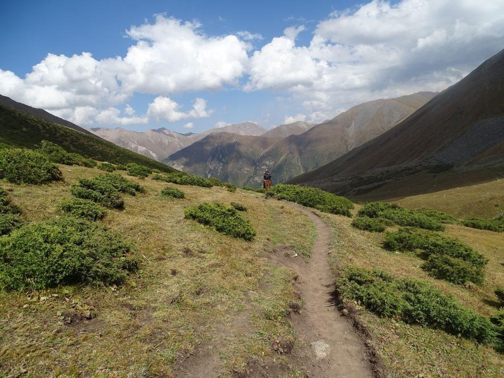 Ala Kul Ritt zum See Kirgistan