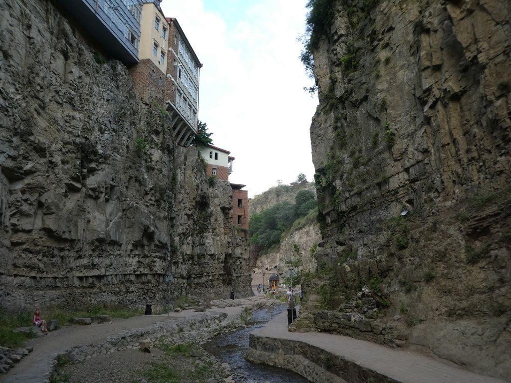 Bäderviertel Tiflis Schlucht