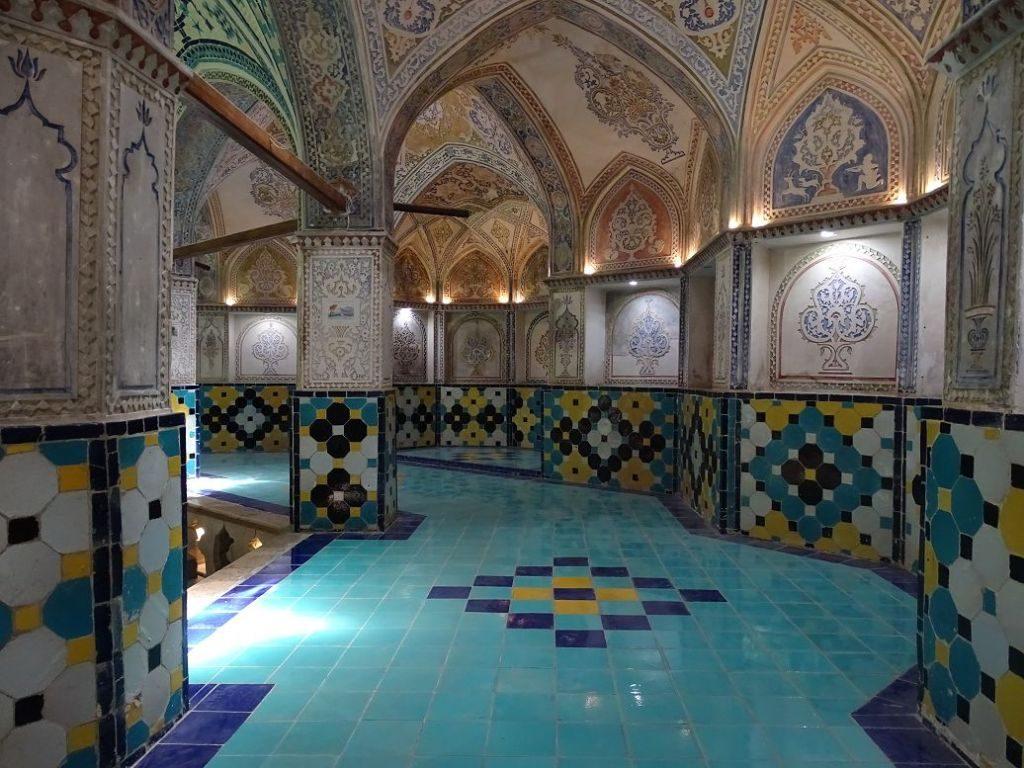 Altes Badehaus in Kashan, Iran