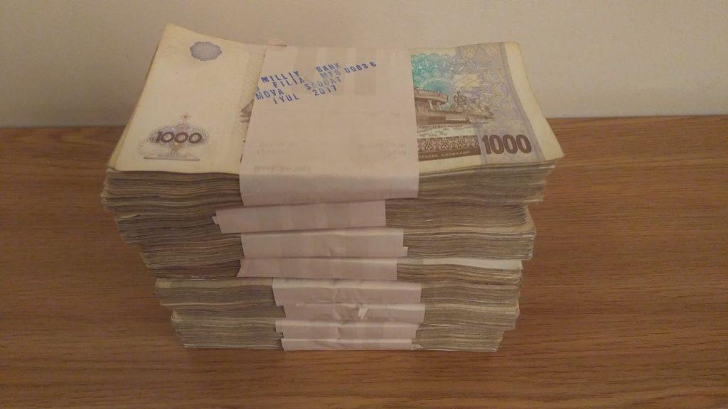 Bargeld Usbekistan Som