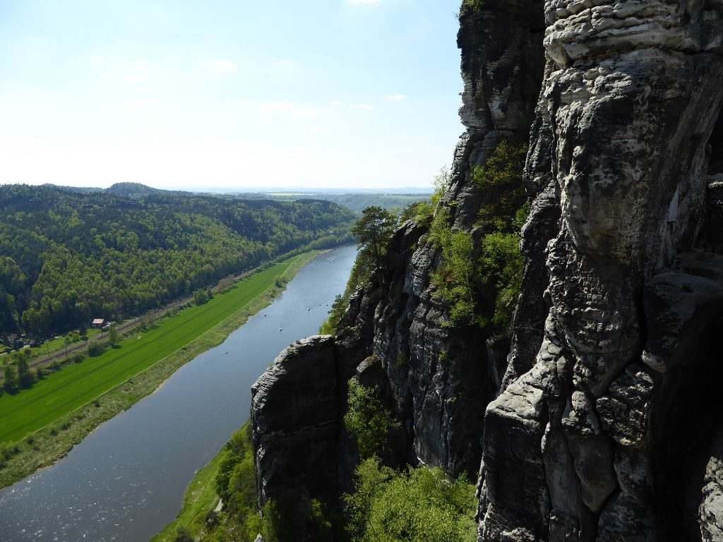 Basteiblick Felsenbrücke