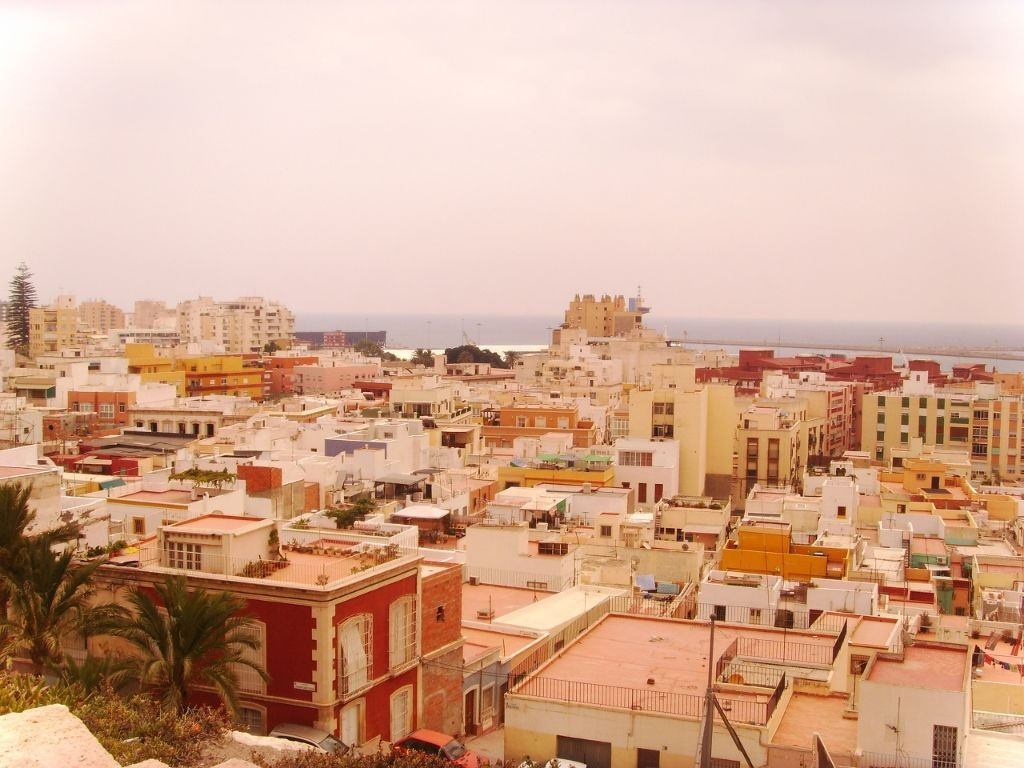 Almeria Spanien Backpacking