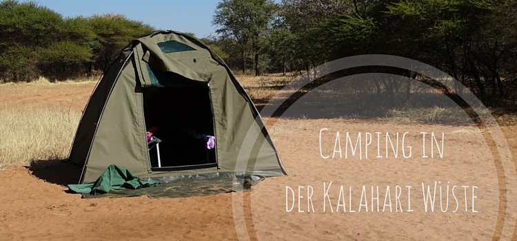 Camping Kalahari