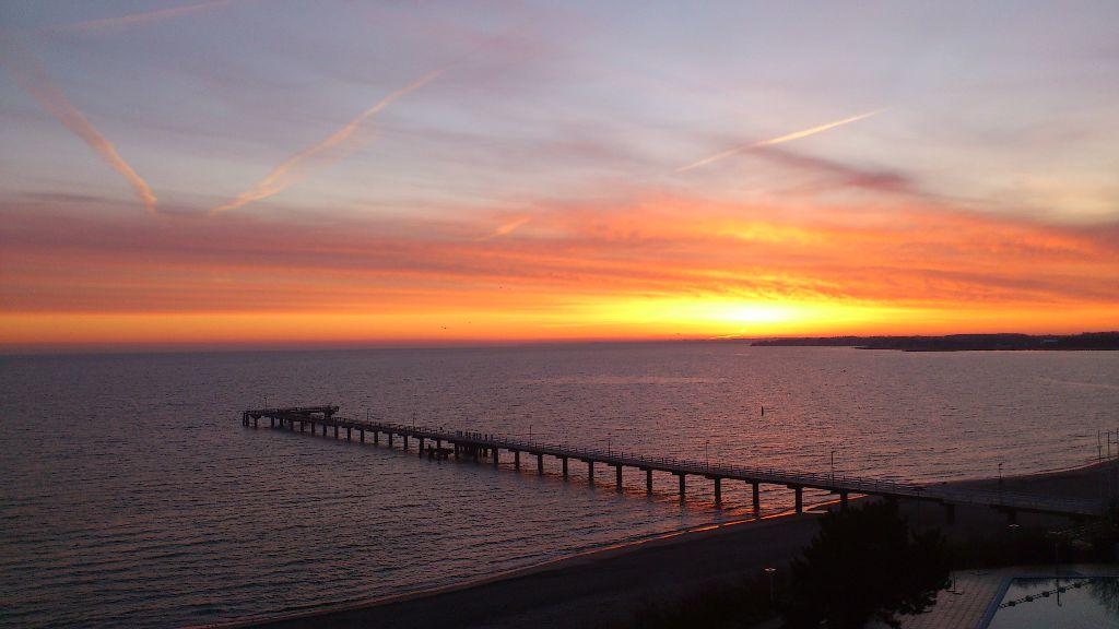 Timmendorfer Strand Sonnenaufgang