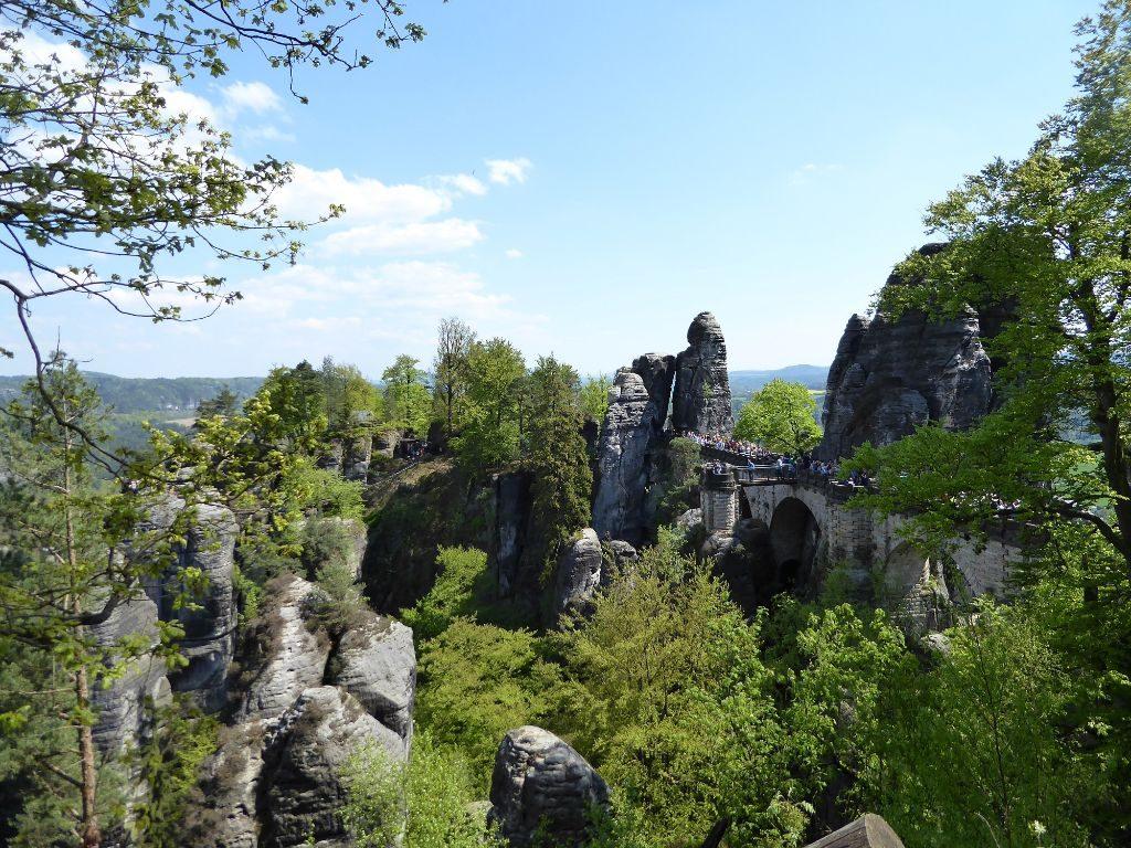 Felsenbrücke Basteibrücke