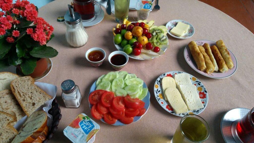 Frühstück Tiflis