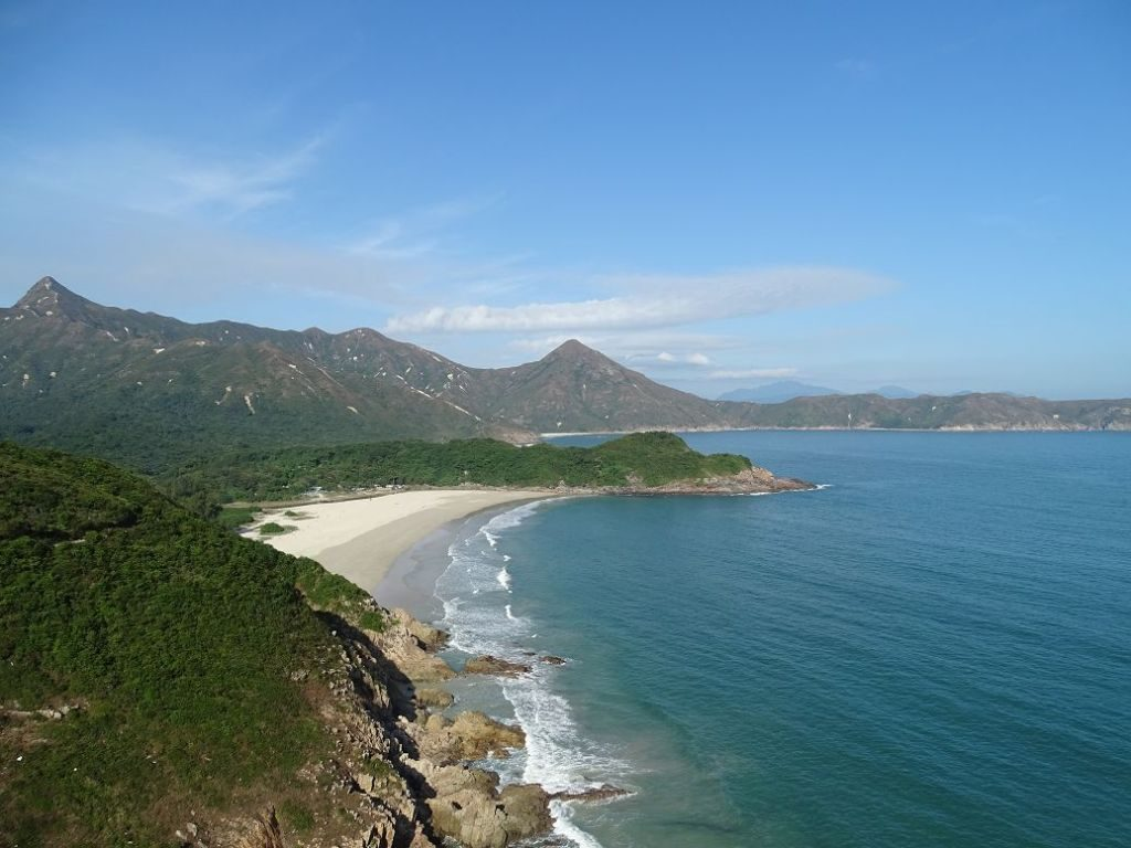 Geopark in Hongkong, China