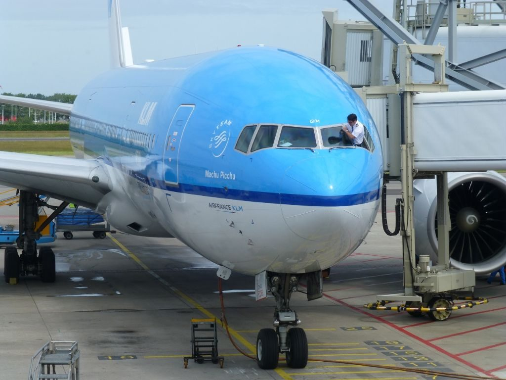 KLM Fenster putzen