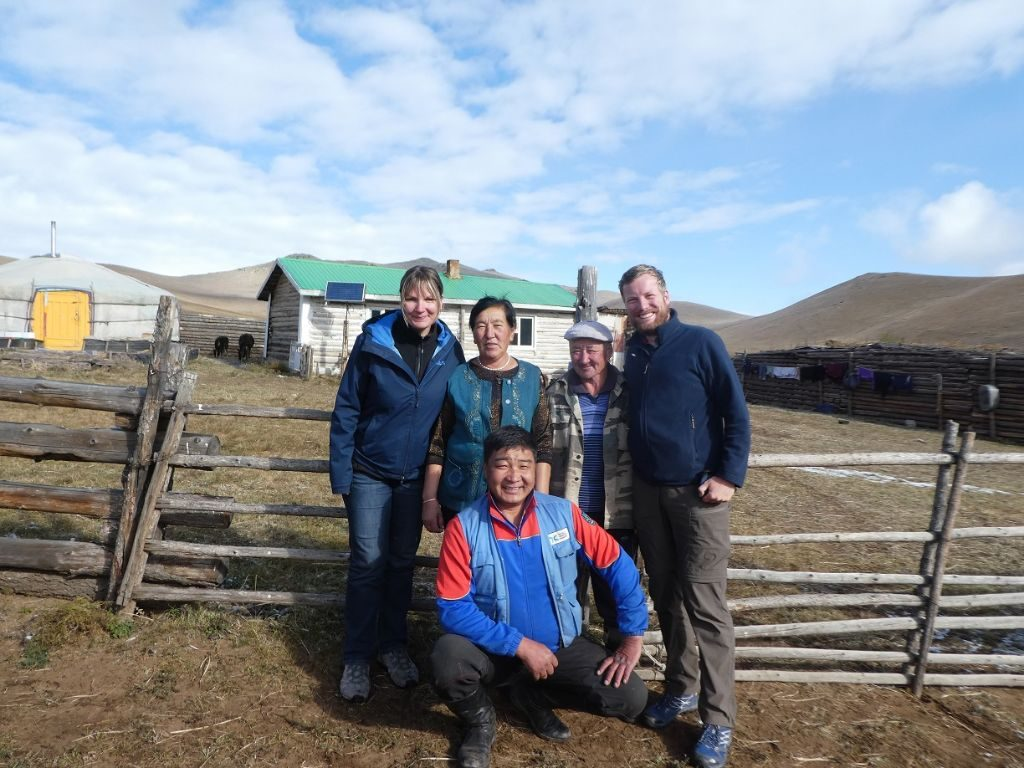 Übernachten bei Kasachischer Familie in der Mongolei