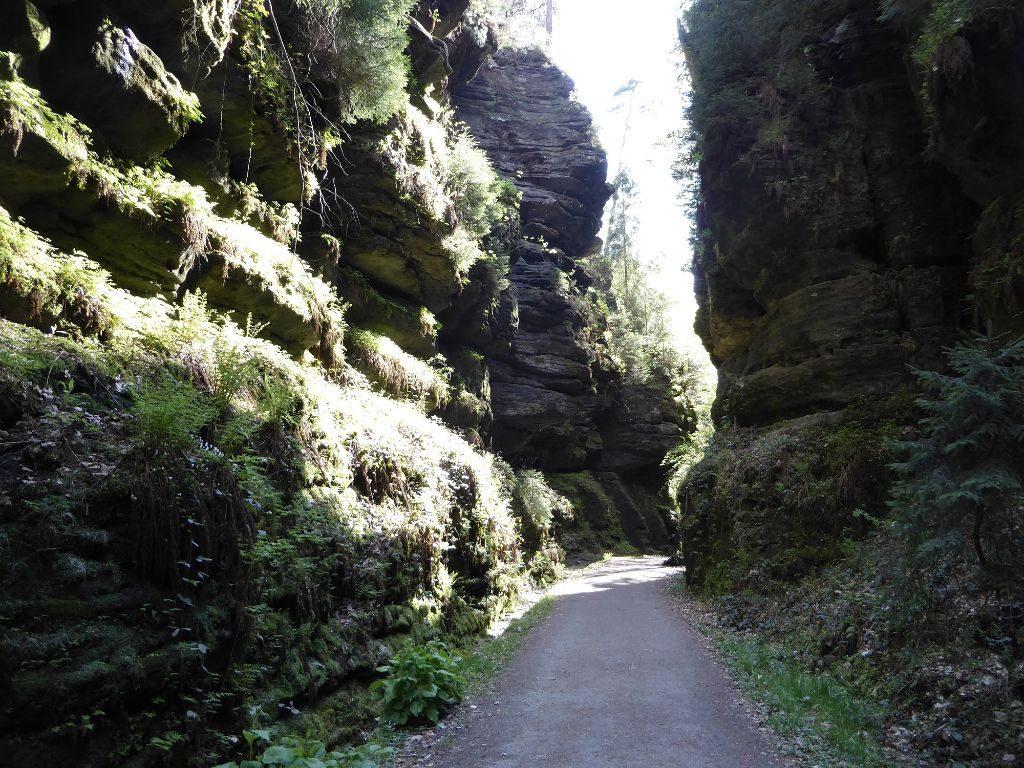 Klamm Sächsische Schweiz