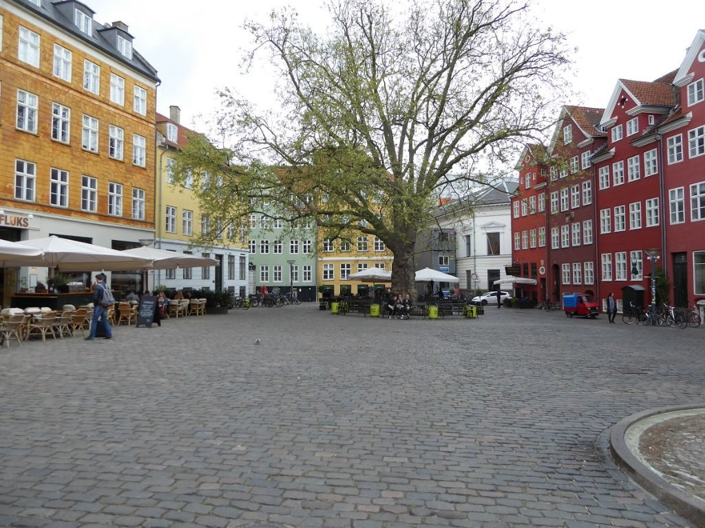 Kopenhagen Marktplatz