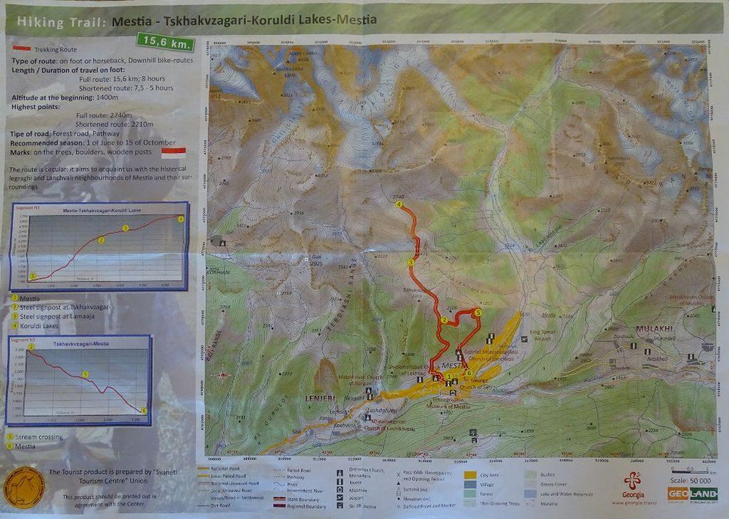 Koruldi Lakes Route Mestia Wanderung
