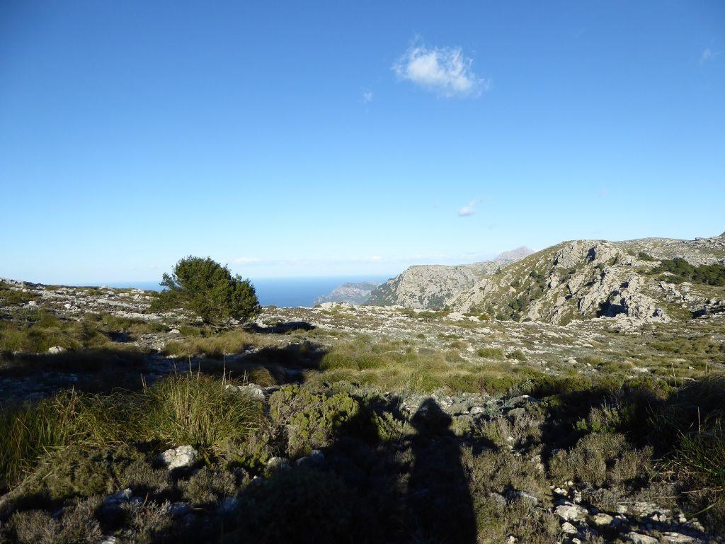 Mallorca Wanderung Valldemossa kleine Runde Meerblick