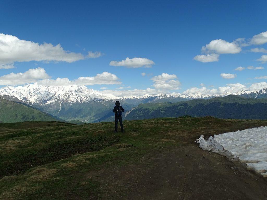 Mestia Berglandschaft