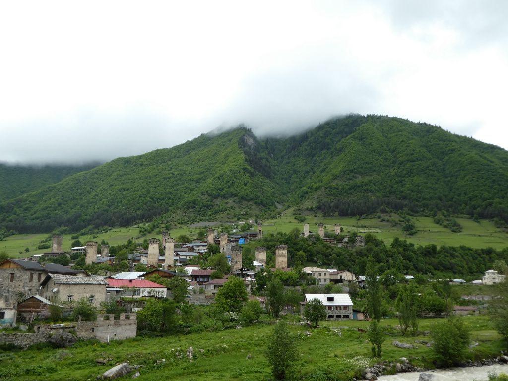 Mestia Dorf