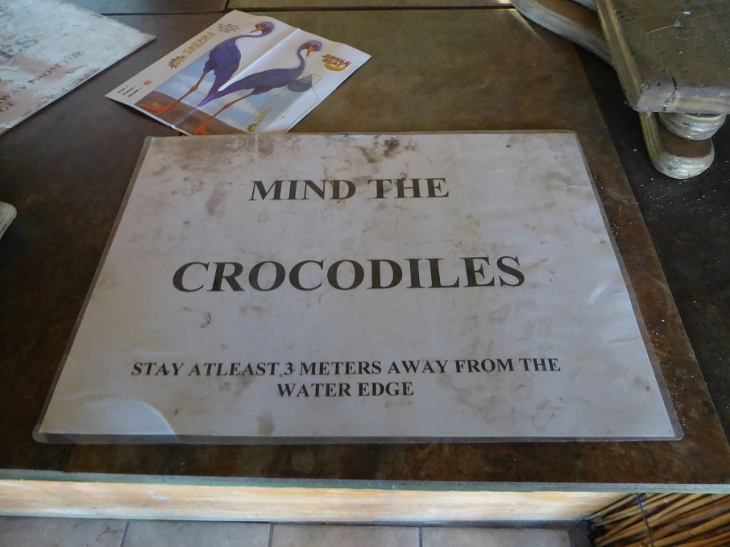 Mind the Crocodiles