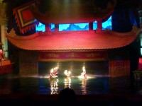 Vietnam Hanoi Wasserpuppentheater