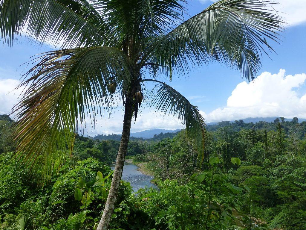Costa Rica Ausblick nach Panama