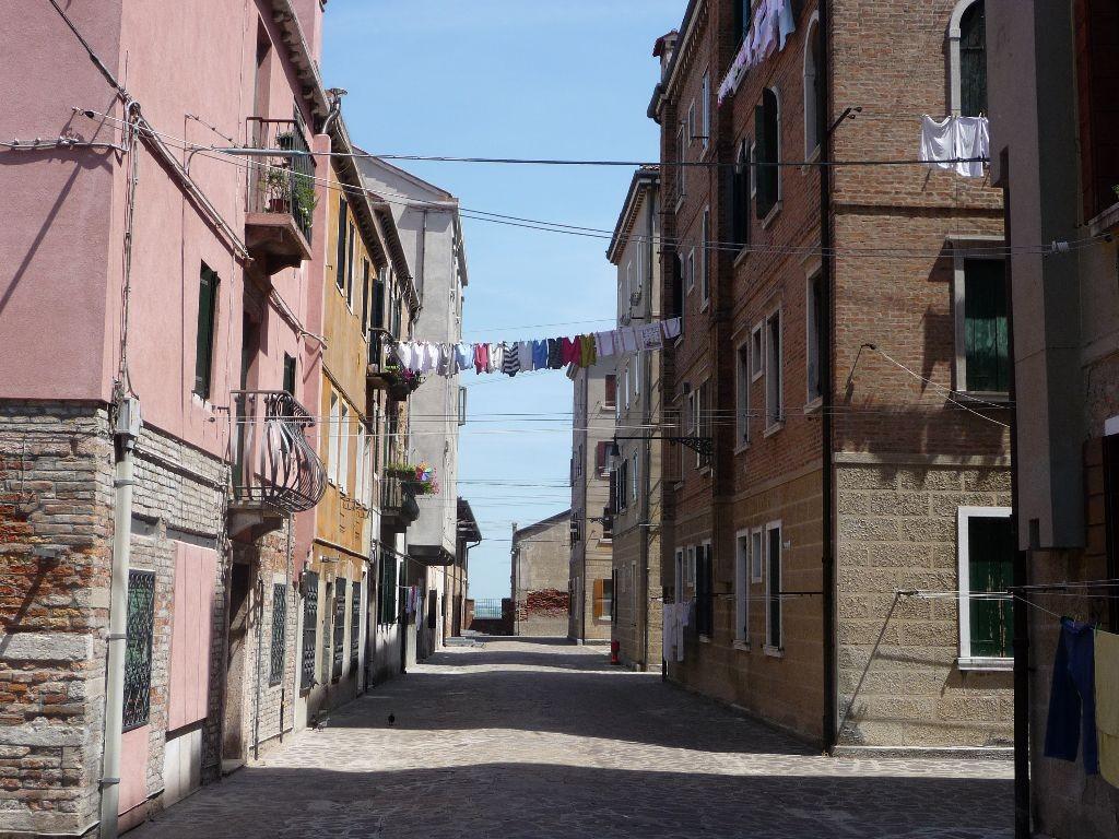 Venedig Wäsche auf der Leine