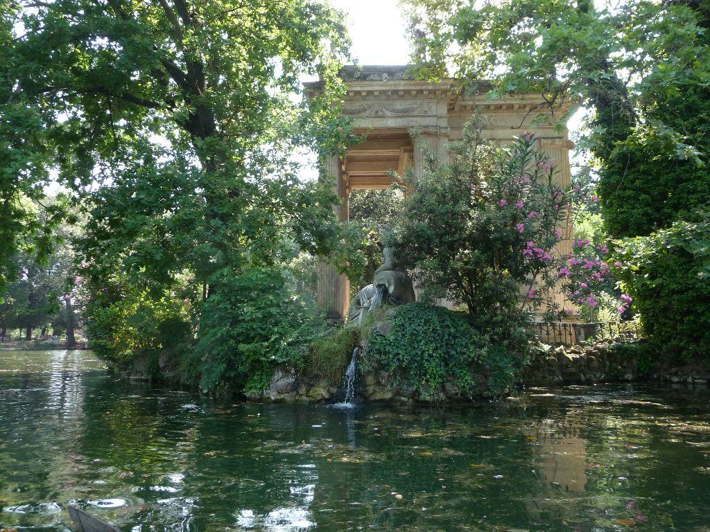 Laghetto di Villa Borghese