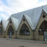 Fischkirche (Feskekorka) von der Seite