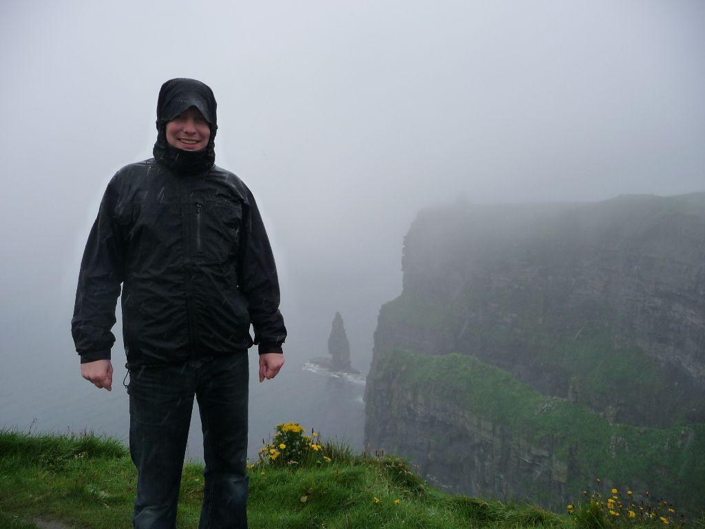 Cliffs of Moher im Regen