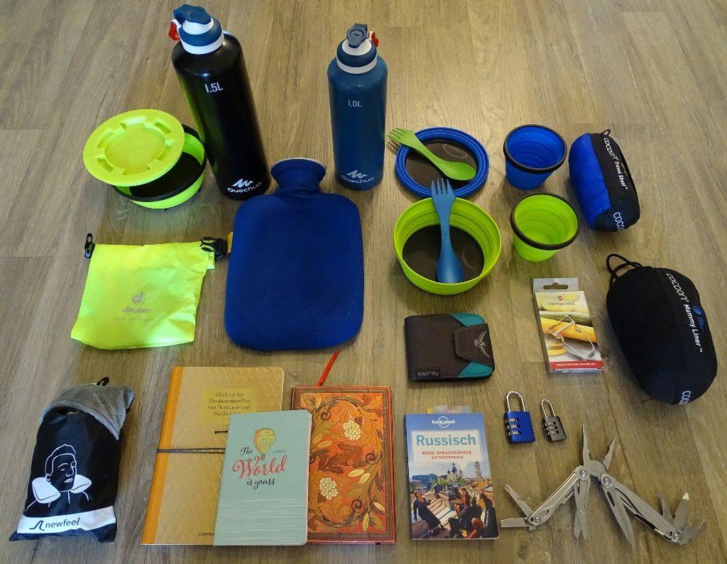 Packliste Weltreise Gadgets kleine Helfer Nützliche Utensilien