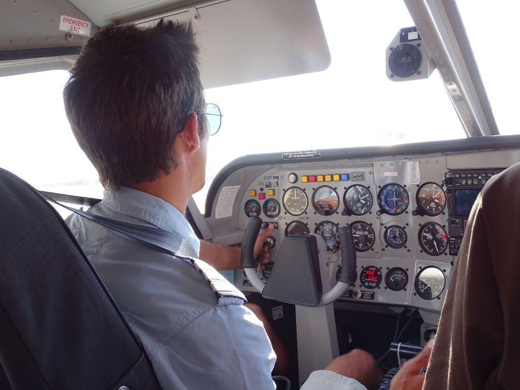 Pilot Okavango Delta Chessna