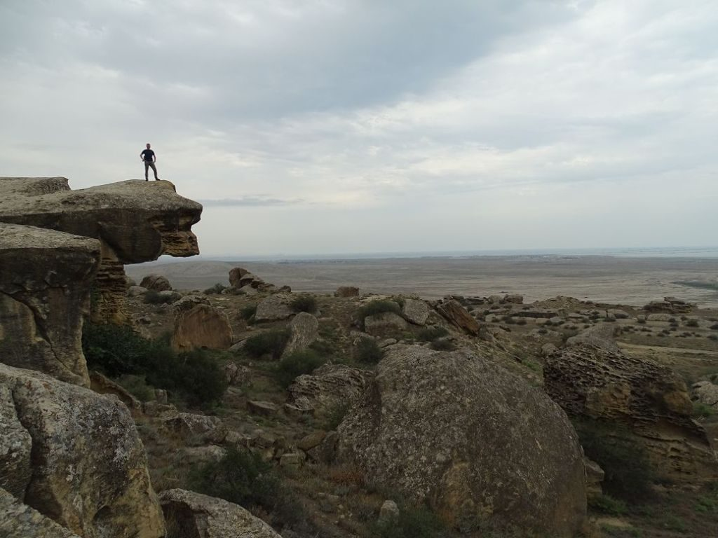 Blick in die Ferne, Quobustan, Aserbaidschan