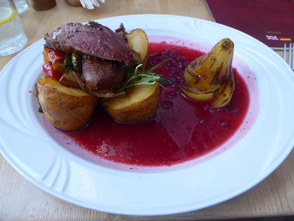 rehbraten stettin wyszak Restaurant