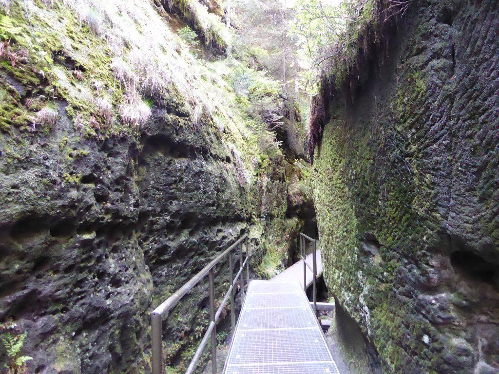 Schwedenlöcher Sächsische Schweiz Wandern