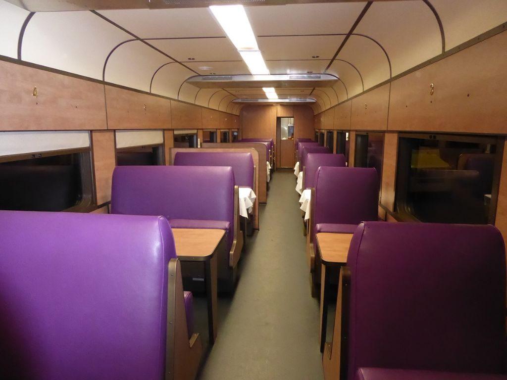 Speisewagen Zug Johannesburg Kapstadt