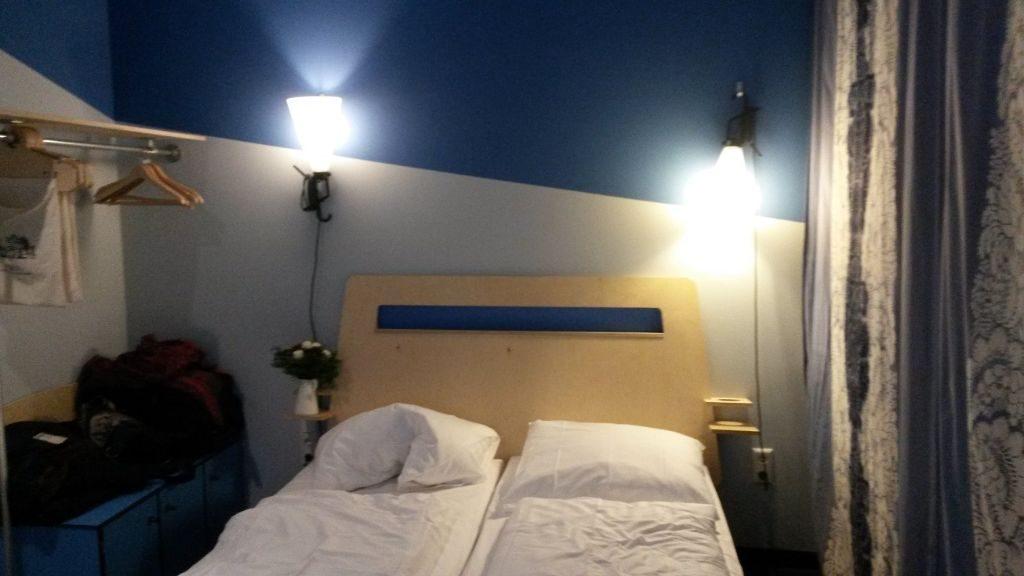 Superbude blaues Zimmer