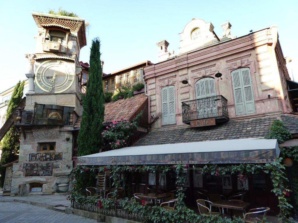 Tiflis Altstadt Marionettentheater