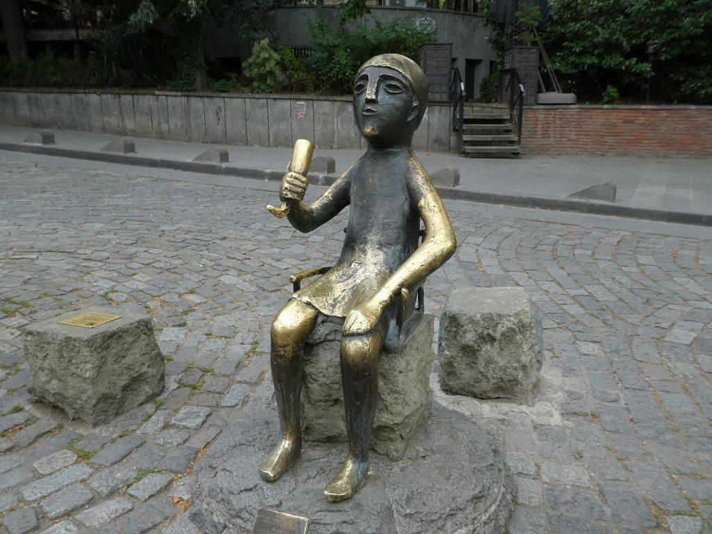 Tiflis Tamada Statue