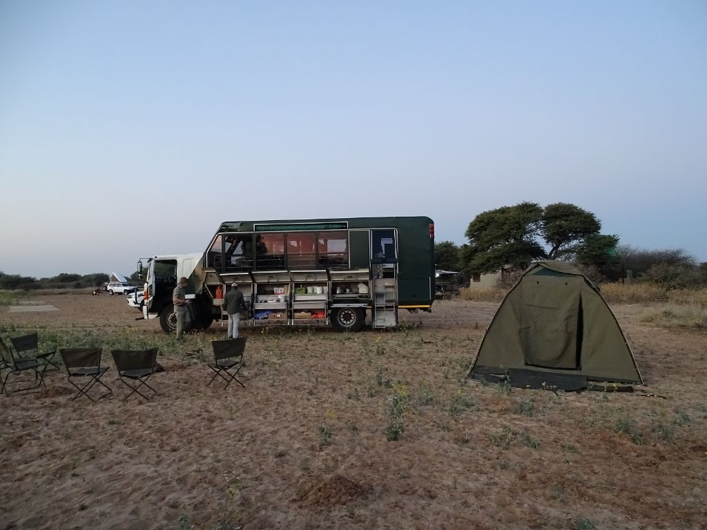 Truck Drifters Kalahri Botswana