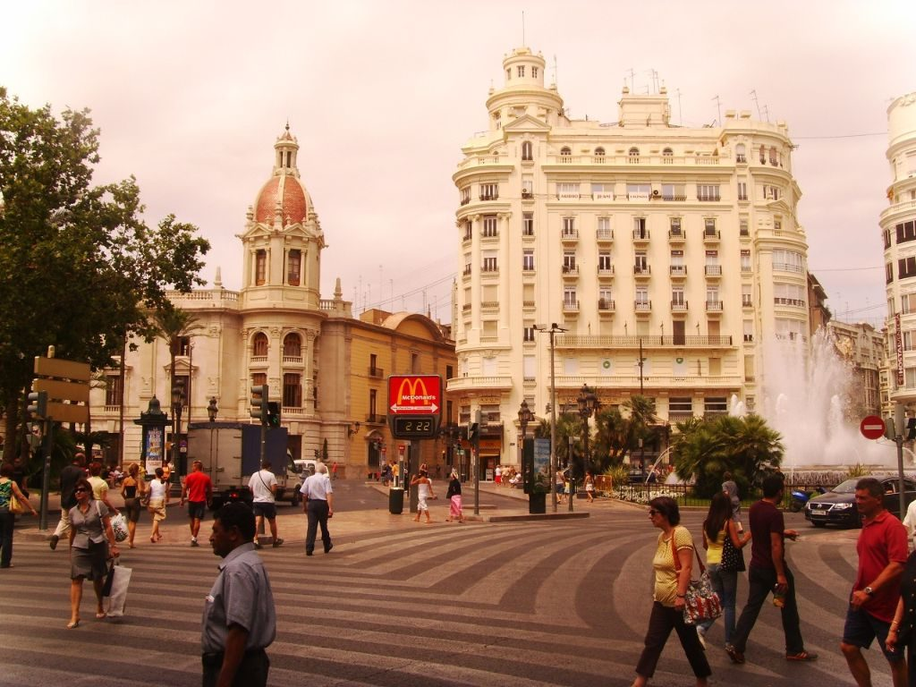 Valencia Spanien Backpacking