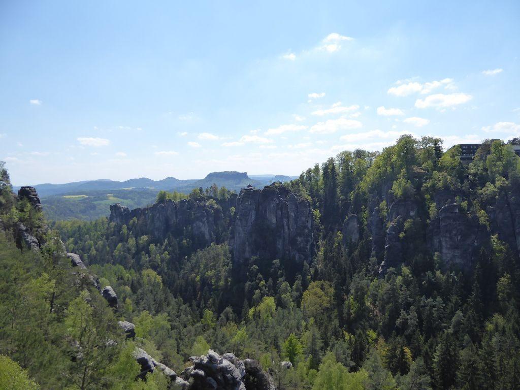 Wehlgrundaussicht Sächsische Schweiz