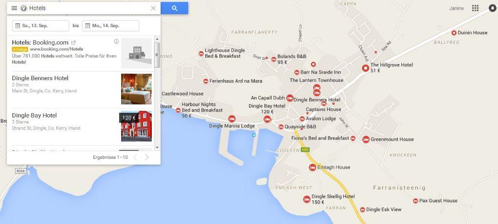 Google Maps Reise- und Spartipps