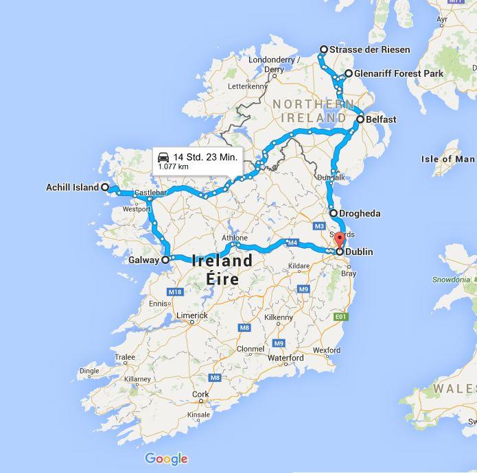 Google West Route
