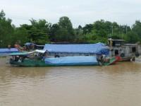 Leben auf dem Mekong