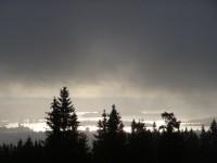 Oslo Holmenkollen Sonnenaufgang