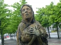 Dublin Famine Memorial Close Up