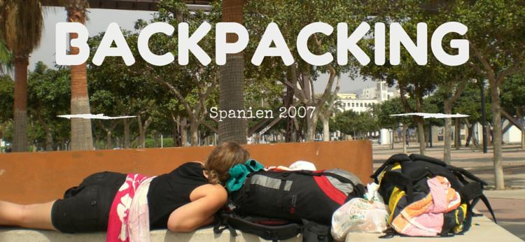 Backpacking Spanien